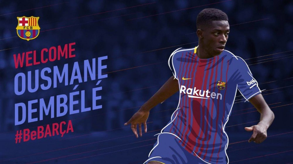 """Barselona"" fransalı futbolçunu105 milyon avroya transfer edib"