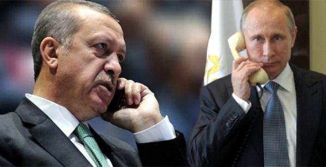 Putinlə Ərdoğan telefonla danışdı -Afrin müzakirə edildi