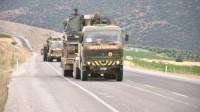 Türkiyə ağır texnikasını Tel Rıfata yeritdi