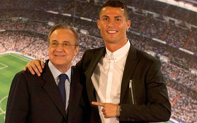"""Peres Kriştiano Ronaldonun satışına """"qadağa"""" qoydu-Futbolçunun transfer qiymətini 1 milyard avroya qaldırdı"""