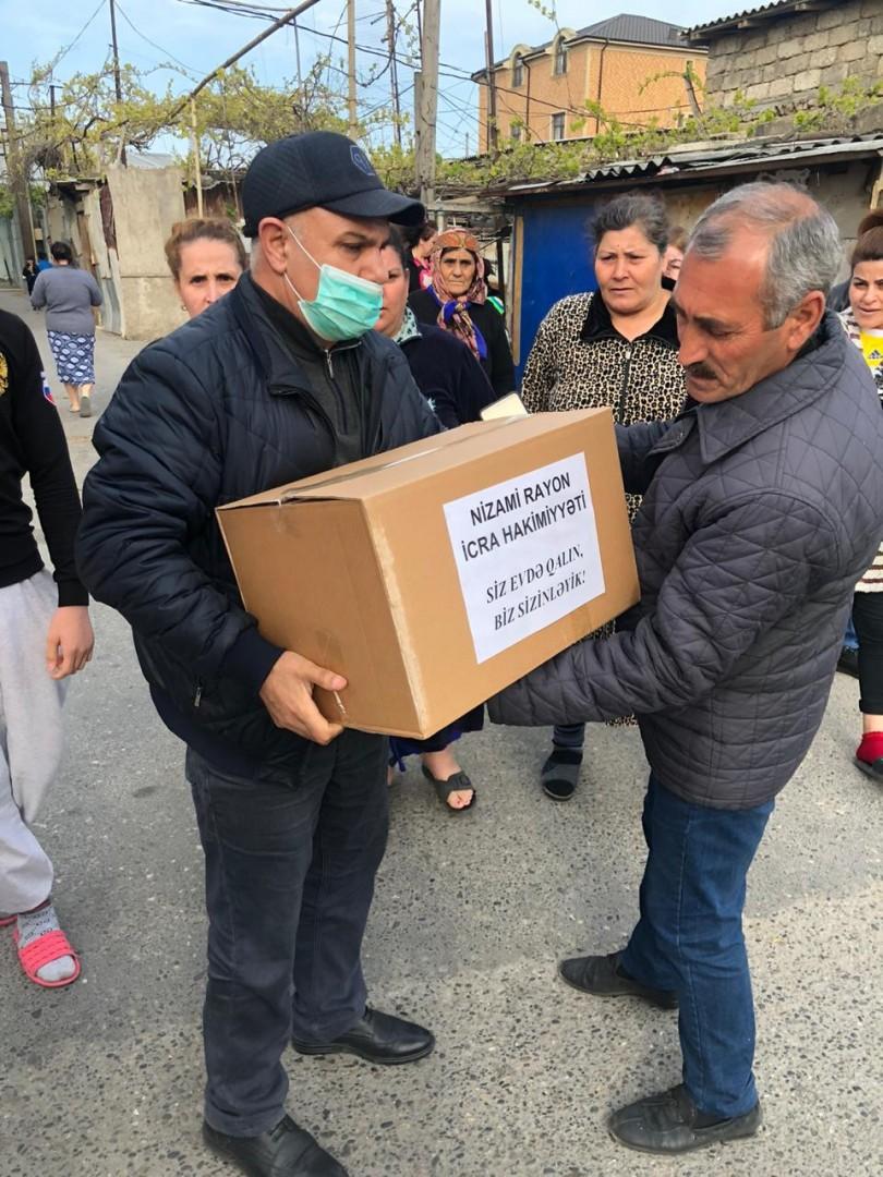 Nizami rayonunda sosialyönümlü tədbirlər davam etdirilir