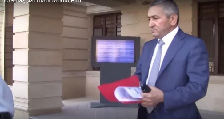 Sabunçu İcra Hakimiyyətində jurnalistdən 5000 istədilər