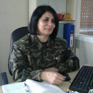 Roza Əliqızından Türk ordusuna dəstək -Hərbi jurnalist Türkiyədə olub