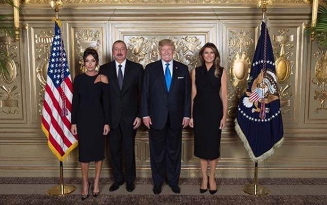 Prezident İlham Əliyev Trampla görüşdü