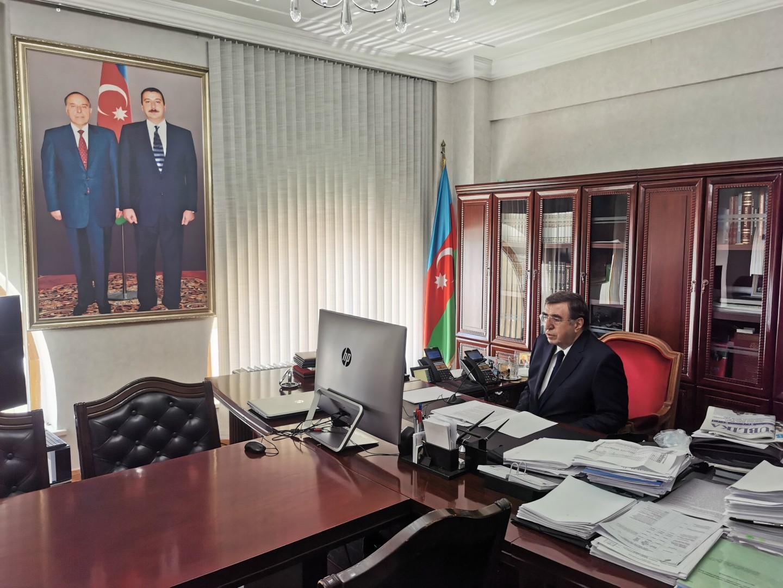 Azərbaycan Meliorasiya və Su Təsərrüfatı ASC video konfrans keçirib-