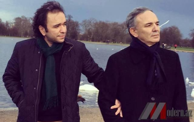 """Əflatun Amaşovun oğlu:"""" İnsan hər zaman hər yerdə öz ölkəsinə fayda verə bilər"""" - FOTOLAR"""