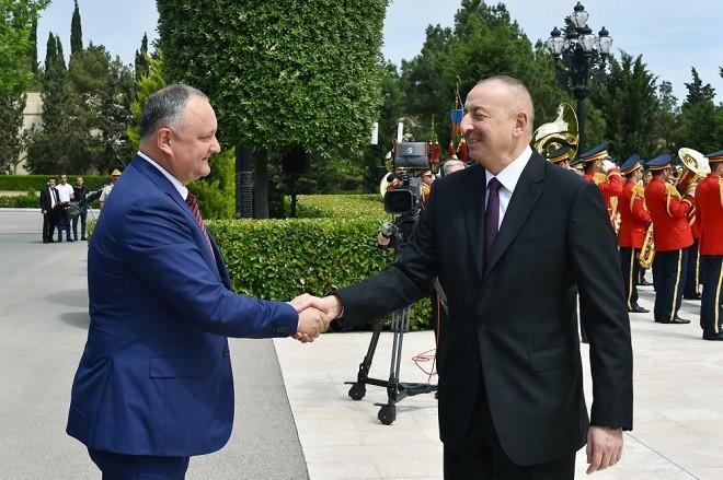 İlham Əliyev Dodonla görüşdü