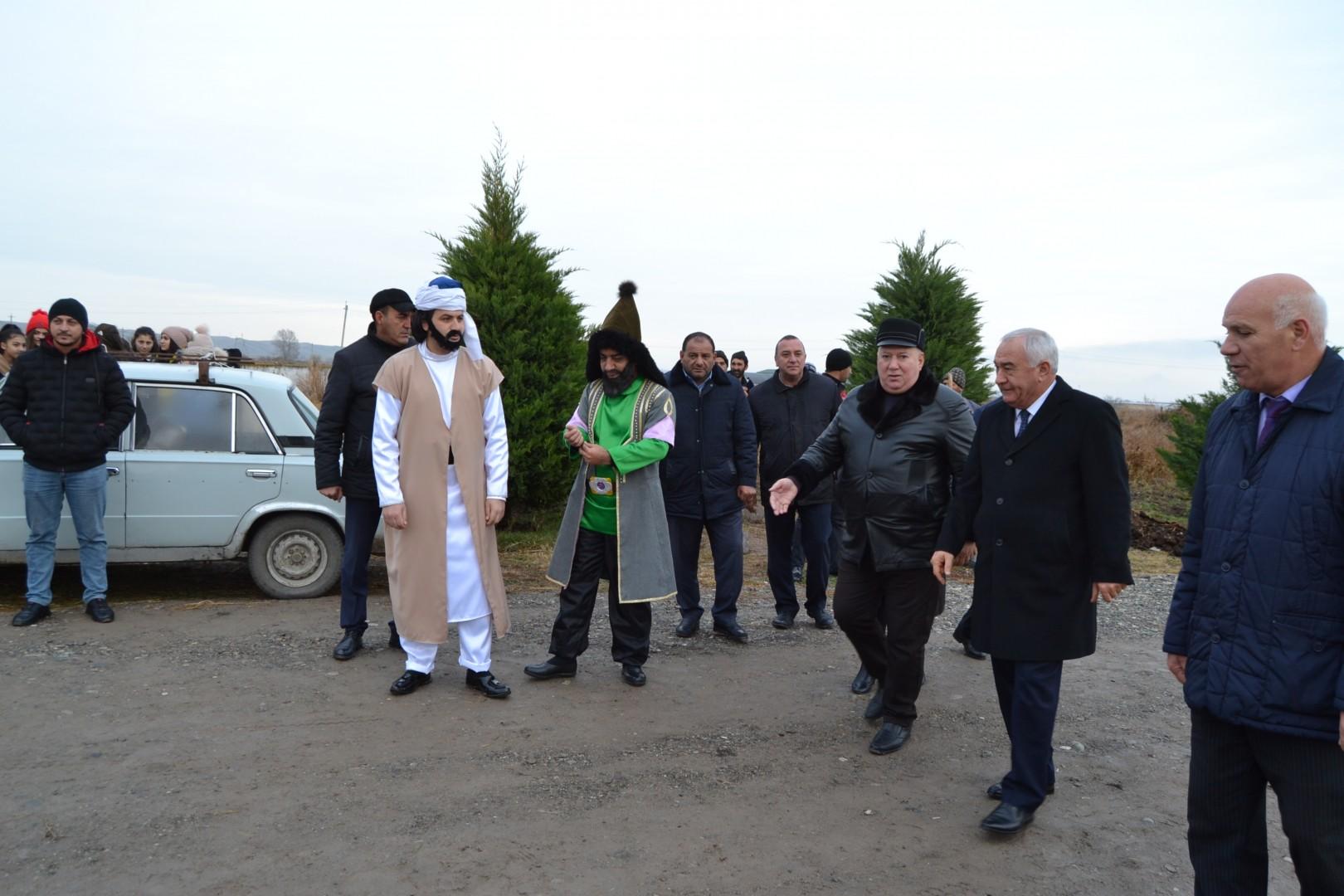 Füzuli Rayon İcra Hakimiyyəti 5000 ağac əkib