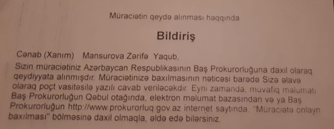 """Rektor müəllimə cavab verdi : """"Sizə veriləcək dərs saatı yoxdu"""""""