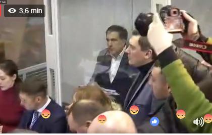 Saakaşvili buraxıldı