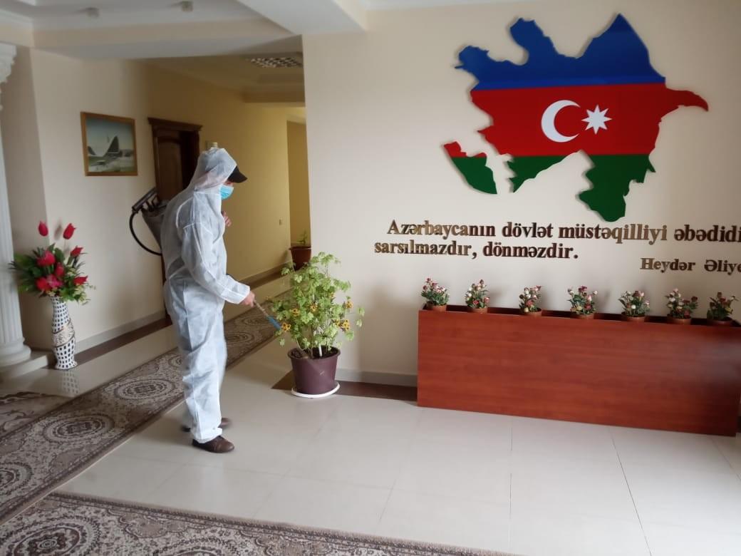 Füzuli rayonunda koronavirus epidemiyasına qarşı mübarizə tədbirləri gücləndirilib-