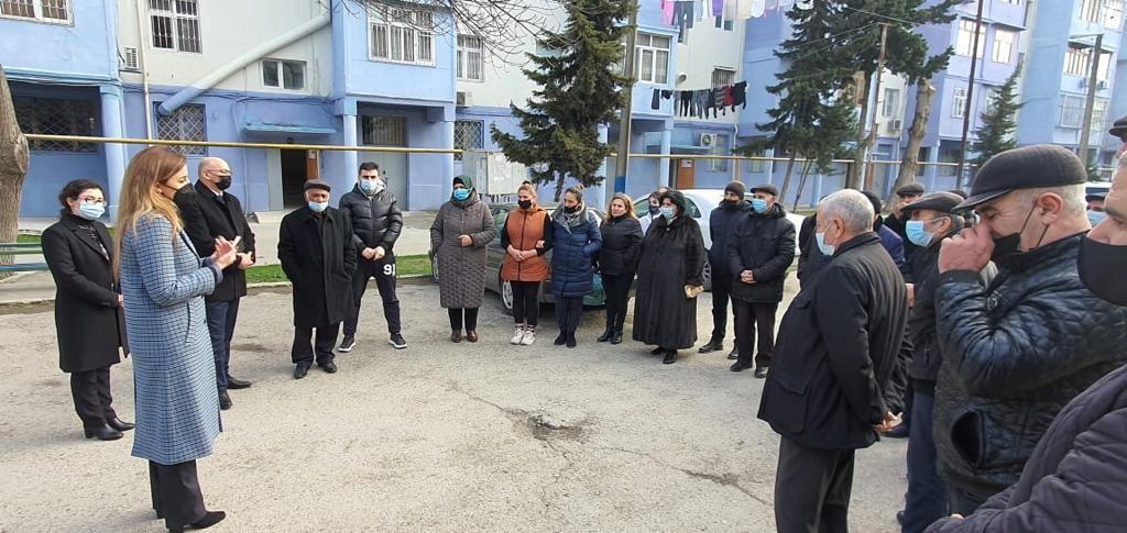Deputat Könül Nurullayeva növbəti dəfə seçiciləri ilə səyyar qəbul keçirib-