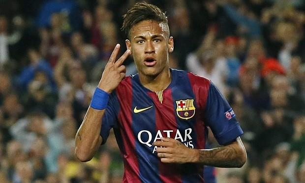 """Neymardan vida mesajı: """"Messi ilə oynamaq mənim üçün şərəf idi""""."""