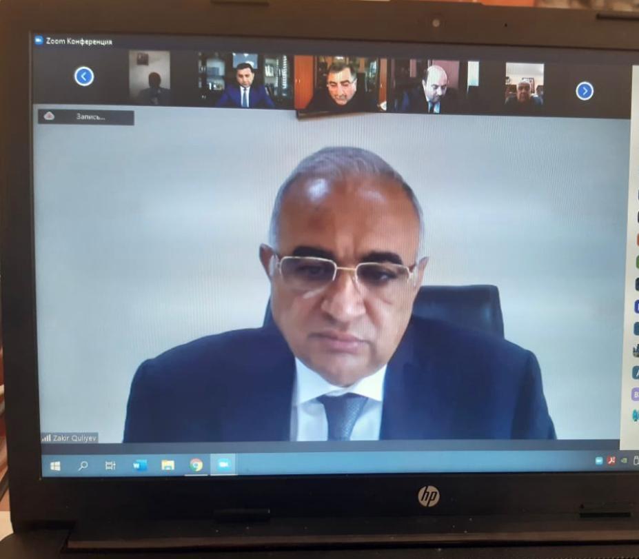 Meliorasiya və Su Təsərrüfatı ASC-də videokonfrans keçirilib