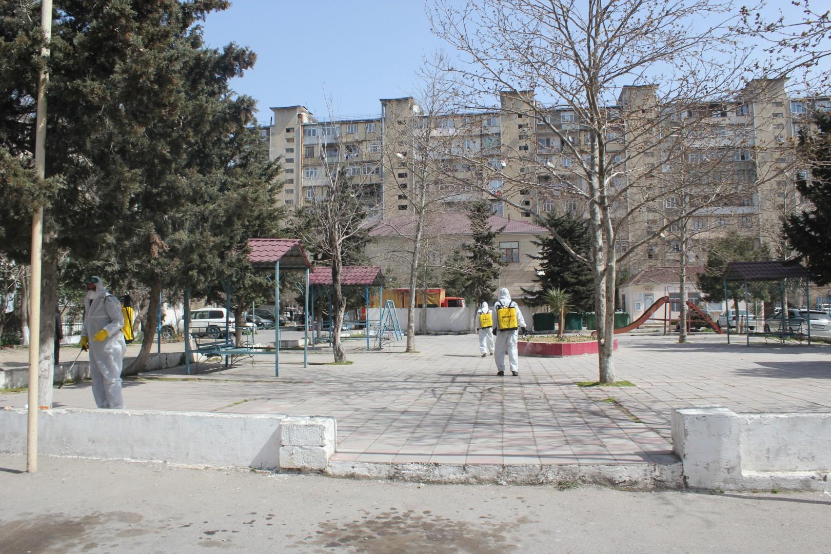 Nizami rayonunda qabaqlayıcı tədbirlər davam edir-