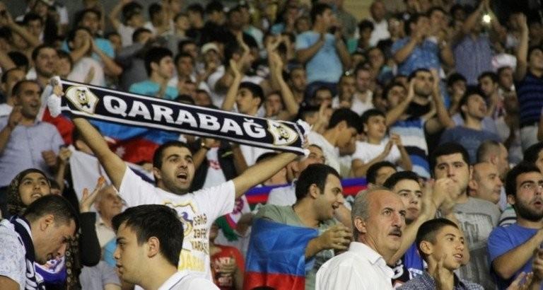 """Azarkeşlər """"Qarabağ""""ı ziyana saldılar- Klub cərimələndi"""