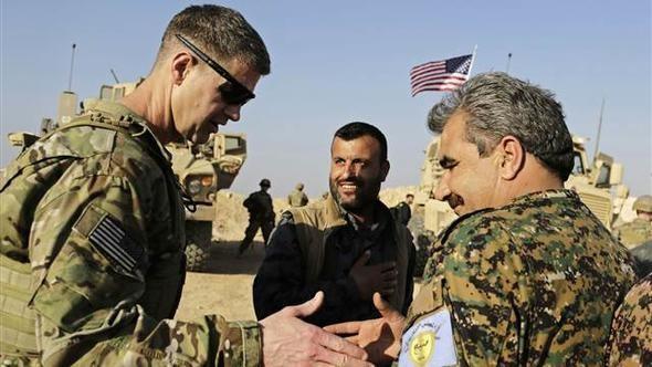 ABŞ generalından şok: YPG-ni qorumaq üçün burdayıq