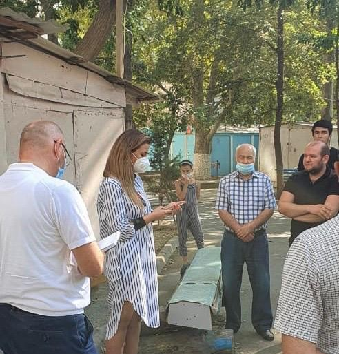 Deputat Könül Nurullayeva Nizami rayon sakinləri ilə görüş keçirib-