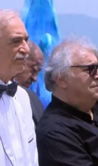 Bayram Səfərov festivalda da yatdı - FOTO