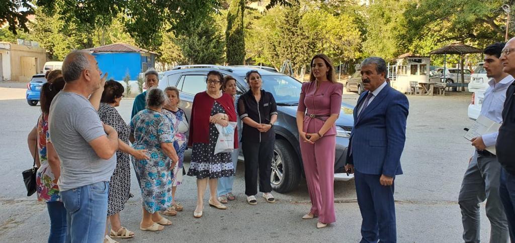 Milli Məclisin deputatı Könül Nurullayeva seçiciləri ilə növbəti səyyar görüşünü keçirib