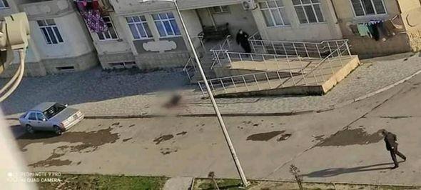 Bakıda daha bir qadın özünü binadan atdı — FOTO