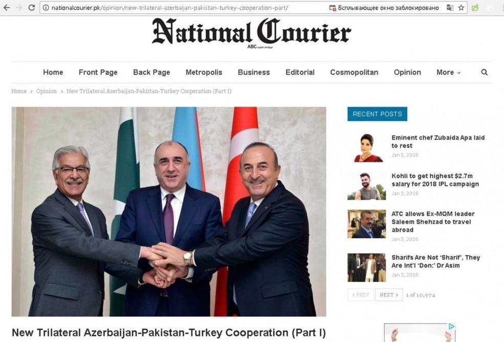 Pakistan mediası: Azərbaycanın sərvətlərini talayıblar