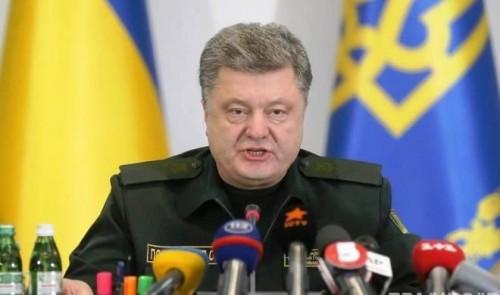 Bayrağımız Krımda dalğalanacaq – Poroşenko söz verdi