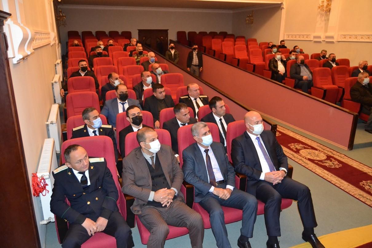 Füzuli Rayon Prokurorluğunun əməkdaşları 1 Oktyabr - Prokurorluq işçilərinin peşə bayramı günü