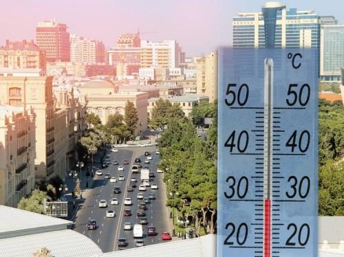 Temperatur ötən günlərlə müqayisədə 2-3 dərəcə artacaq –Hava proqnozu