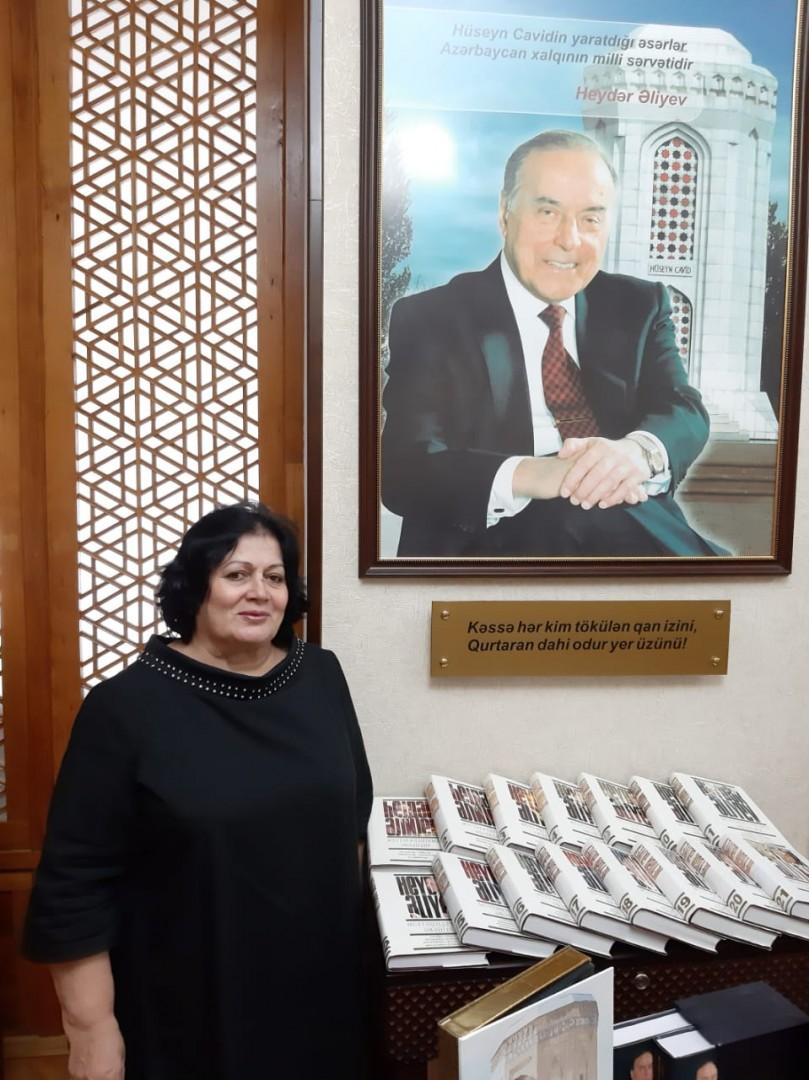 AMEA Hüseyn Cavidin Ev Muzeyində Ümumilli Lider Heydər Əliyevin anadan olmasının 96-cı ildönümü qeyd edilib