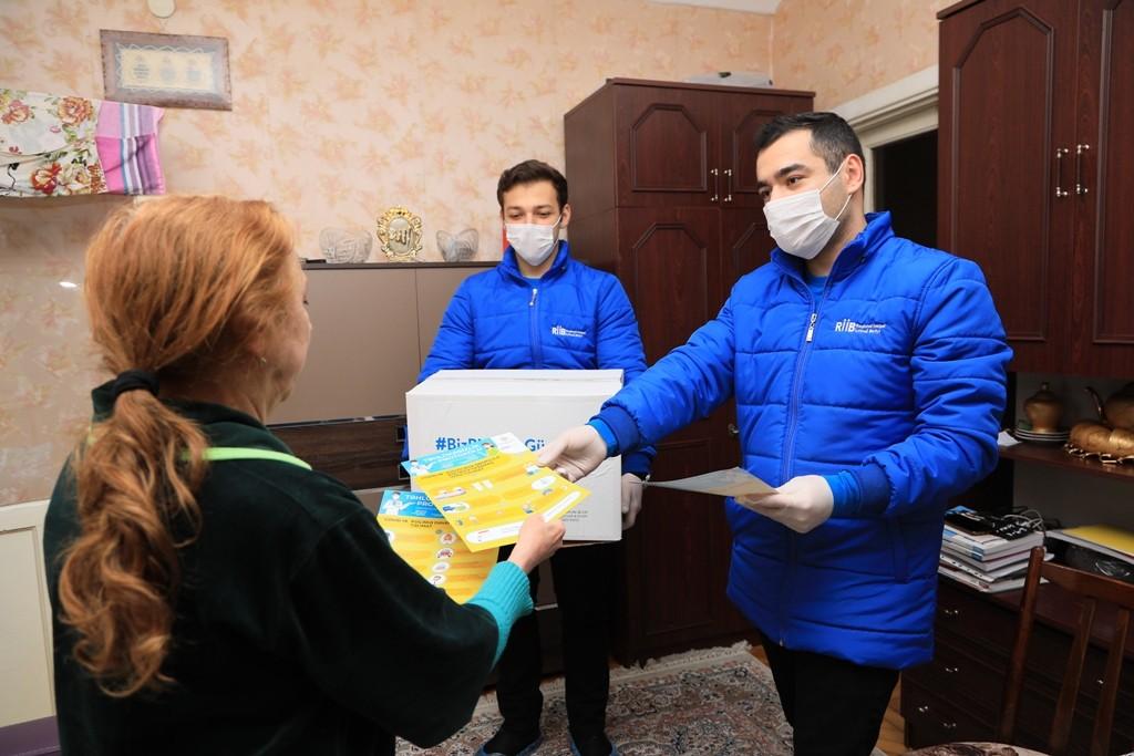 RİİB tərəfindən başlanılan sosial aksiyaya Nizami Rayon İcra Hakimiyyəti də qoşulub-