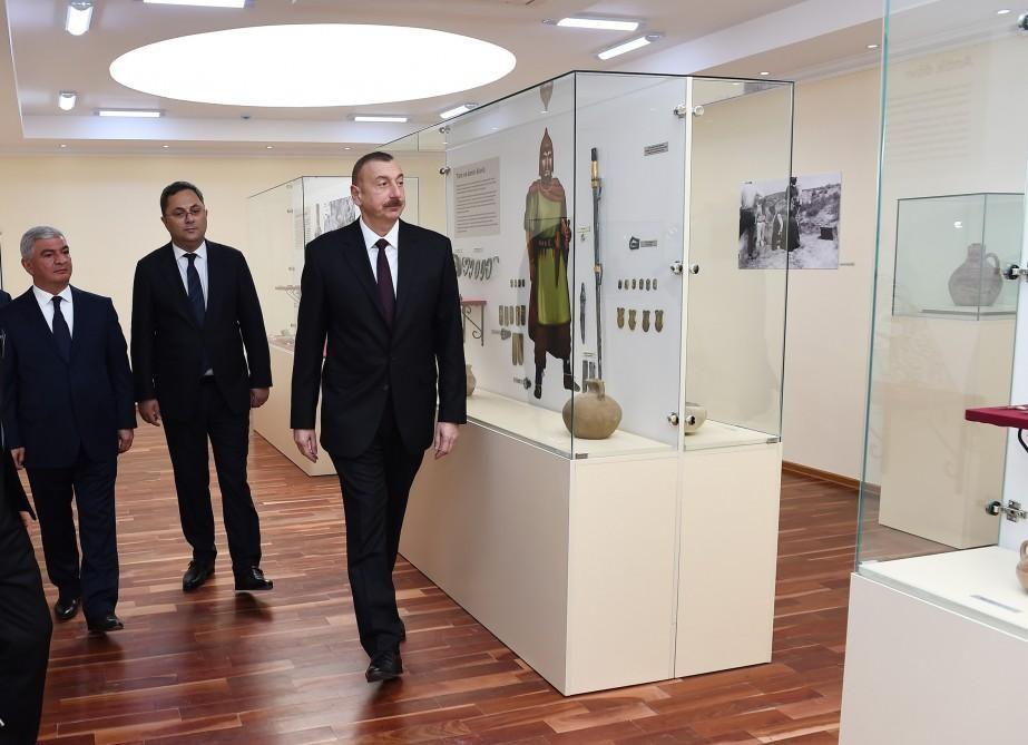Prezident İlham Əliyev Ağcabədiyə gedib –Bır sıra obyektlərin açılışı oldu