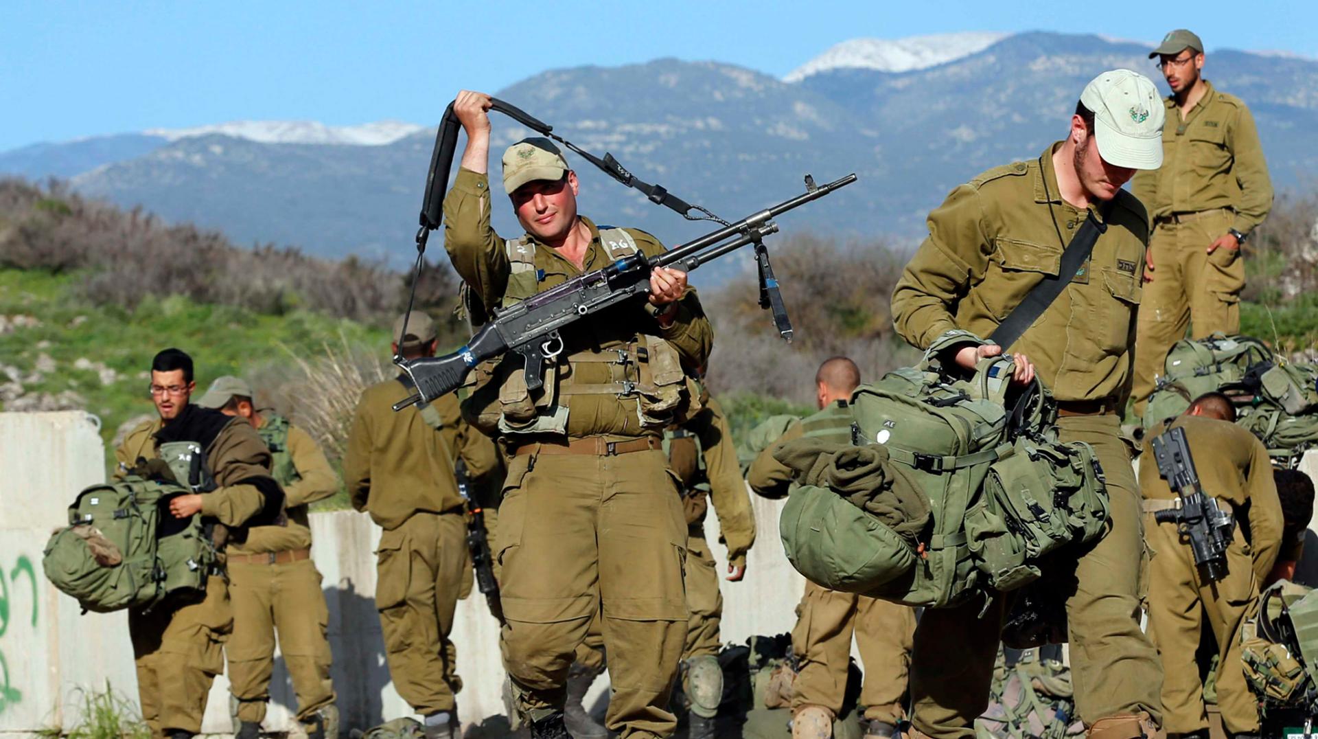 İsrail İordan çayının qərb sahilinə hərbi qüvvə toplayır