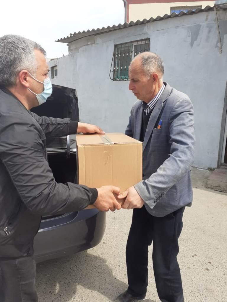 Nizami rayonunda sosial baxımdan həssas əhali qruplarına dəstək davam etdirilir-