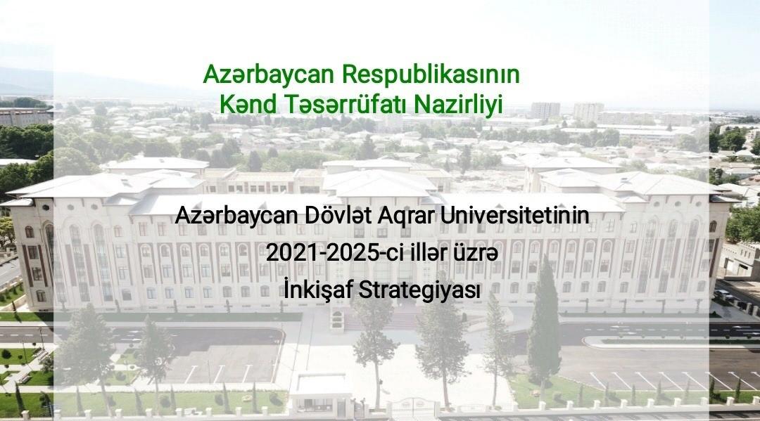 ADAU-da yeni inkişaf strategiyası müzakirə olunub-