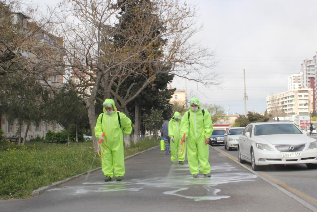 Nizami rayonunda koronavirus (COVID-19) pandemiyasına qarşı mübarizə tədbirləri daha da gücləndirilir