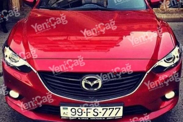 """Əli Həsənovun nəvəsi ilə yarışan """"Mazda"""" sahibi nazirin qardaşı çıxdı"""