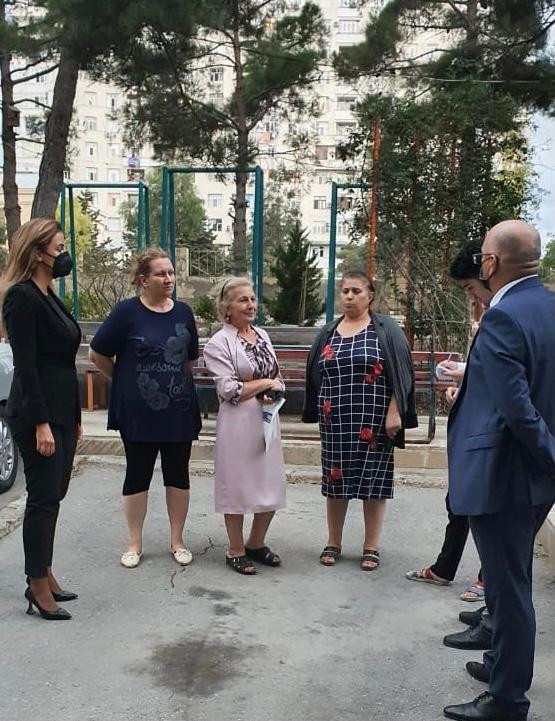 Millət vəkili Nizami rayon sakinlərinin problemlərini dinləyib