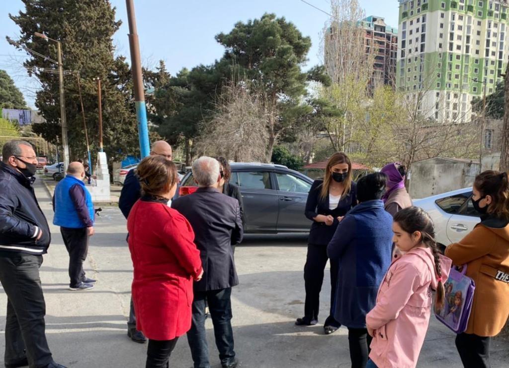 Millət vəkili Könül Nurullayeva 15 saylı avtobus xəttinin fəaliyyəti ilə maraqlanıb