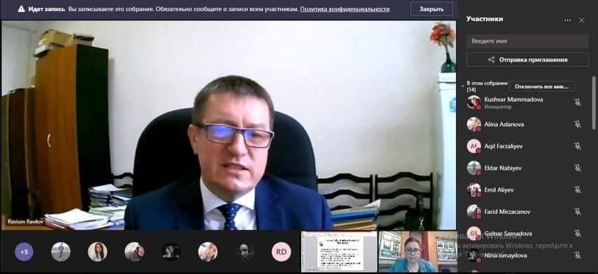 Kazan Dövlət Baytarlıq Akademiyasının rektoru ADAU tələbələrinə mühazirə söyləyib